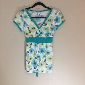 Full tilt floral retro style blouse large cute